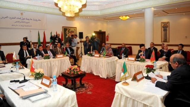 وزراء خارجية دول الاتحاد المغاربي يدعون للتصدي الجماعي للإرهاب