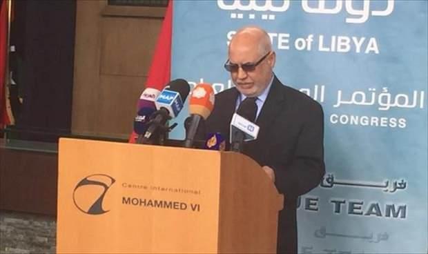 معزب: خطة طريق حلّ أزمة ليبيا جاهزة قبل يومين