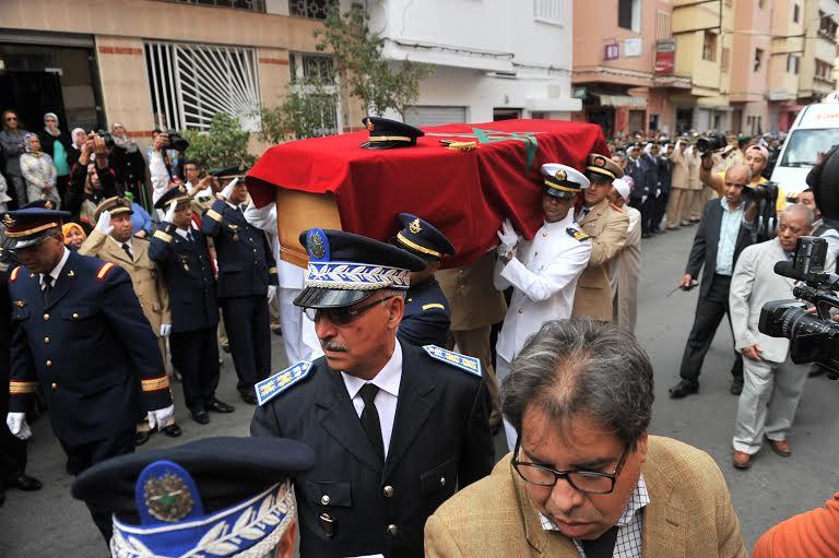 حصري: وصول جثمان الطيار بحتي والجنرال عرّوب يقود الجنازة بأمر من الملك