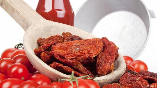 الطماطم المجففة صحية أكثر من الطازجة