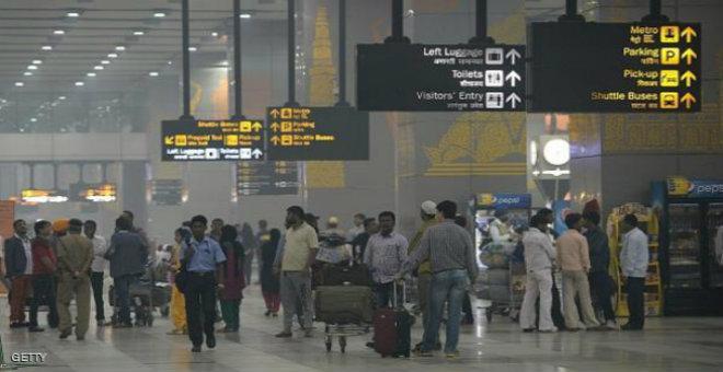 تسرب مادة مشعة في مطار هندي
