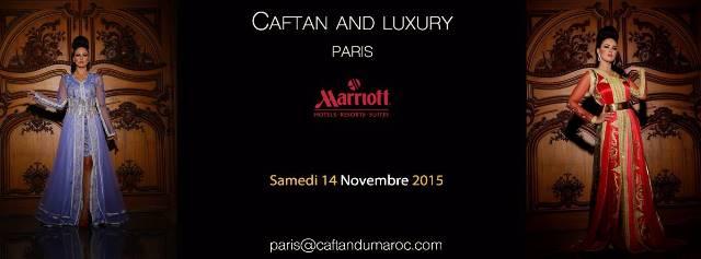 مصممو أزياء مغاربة يعرفون بالقفطان في باريس