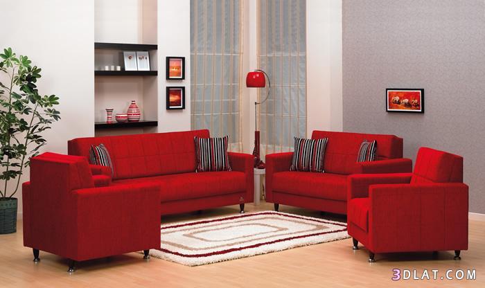 5  نصائح لاستخدام اللون الأحمر في ديكور المنزل