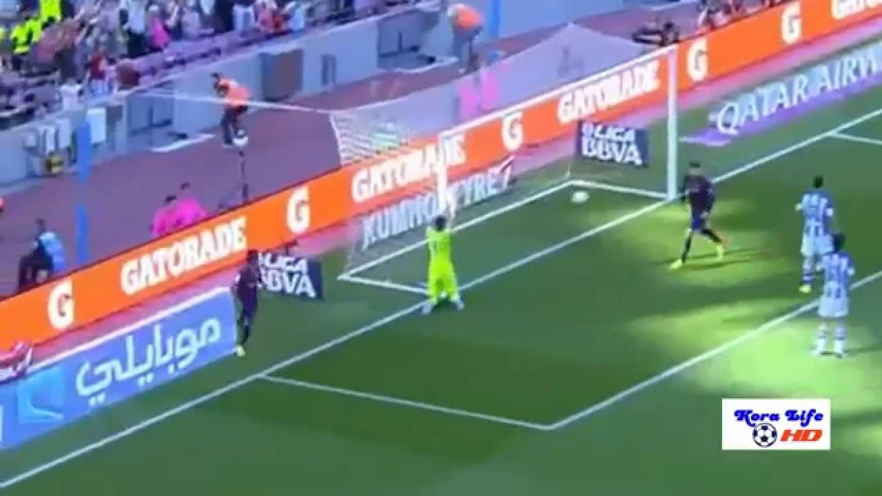 برشلونة وريال سوسيداد 2-0