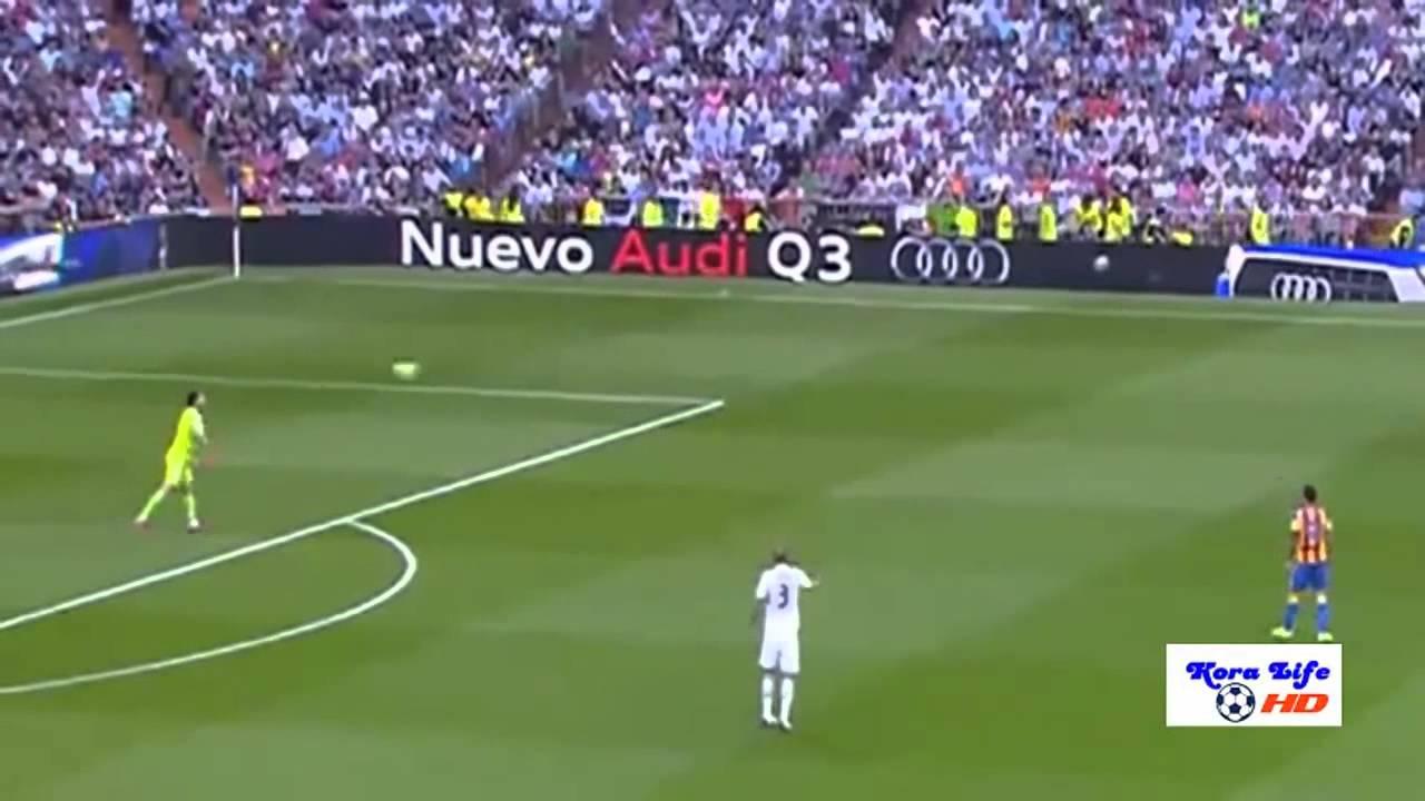 ريال مدريد وفالنسيا 2-2
