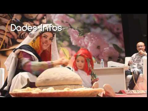 ملكة جمال الورود 2015 تلقي قصيدة أمازيغية