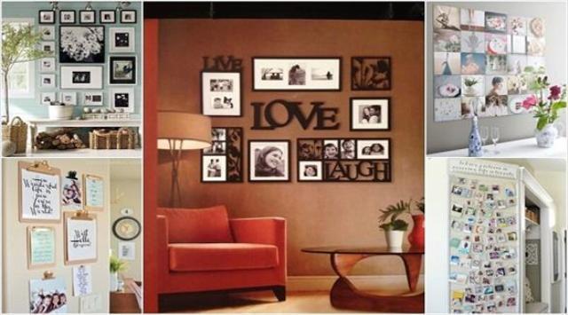 10 أفكار لتحويل جدران المنزل إلى معارض فنية