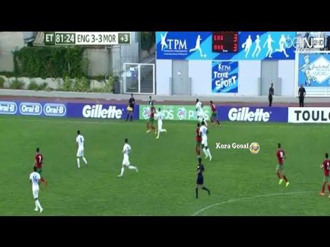 المغرب- إنجلترا :3-3