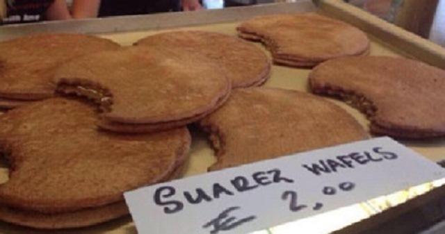 عضة سواريز ب2 يورو في بلجيكا
