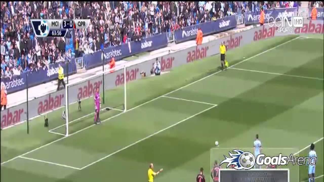 مانشستر سيتي وكوينز بارك: 6-0
