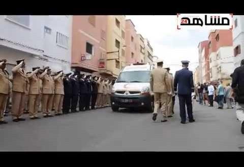 فيديو: جنازة مهيبة للطيار المغربي ياسين بحتي