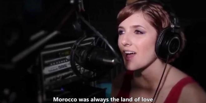فيديو…النجمة الأمريكية إليزابيث تغنى للمغرب