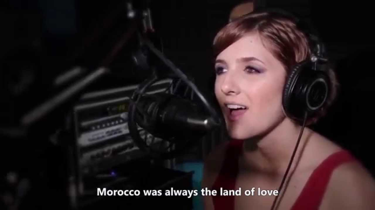 فيديو...النجمة الأمريكية إليزابيث تغنى للمغرب
