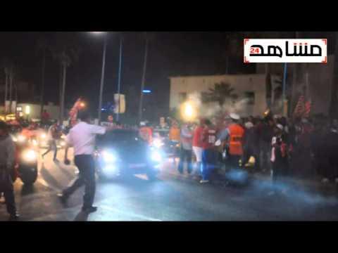 فيديو احتفالات جماهير الوداد بلقب البطولة