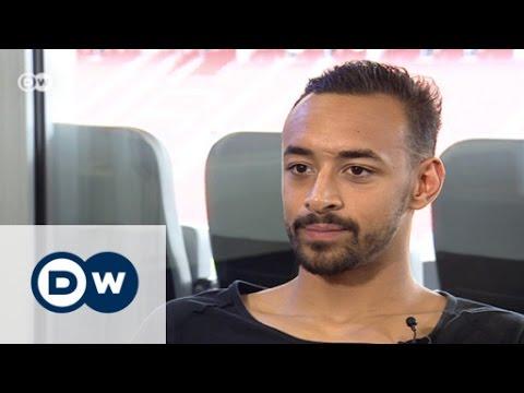 لقاء مع نجم الكرة الألمانية كريم بلعربي