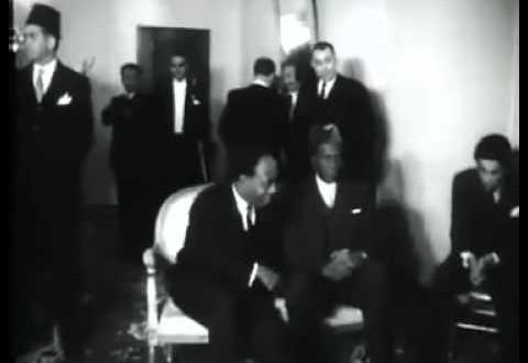 الرئيس جمال عبد الناصر يحضر مؤتمر اقطاب افريقيا