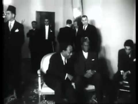 الرئيس جمال عبد الناصر يحضر مؤتمر أقطاب افريقيا