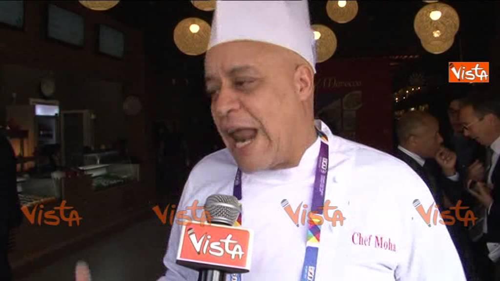 الشاف موحا يشرف على جناح الطبخ المغربي في