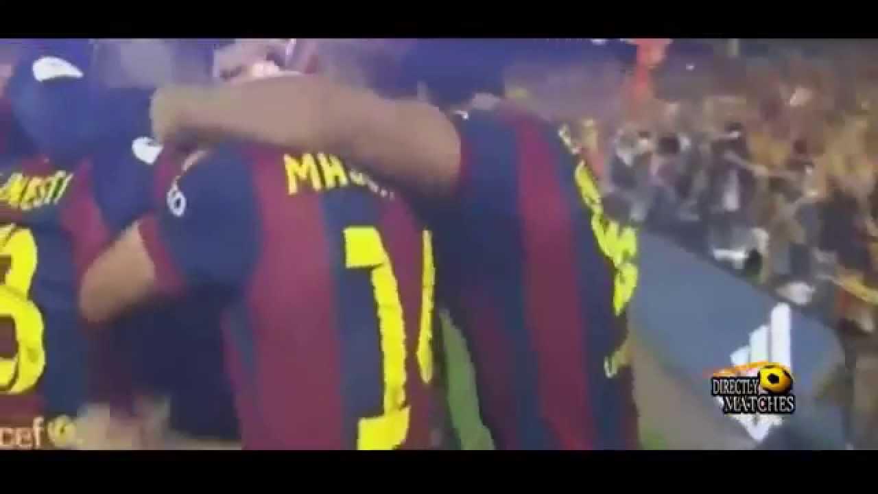 فيديو نهائي كأس الملك بين برشلونة أمام بلباو : 3-1