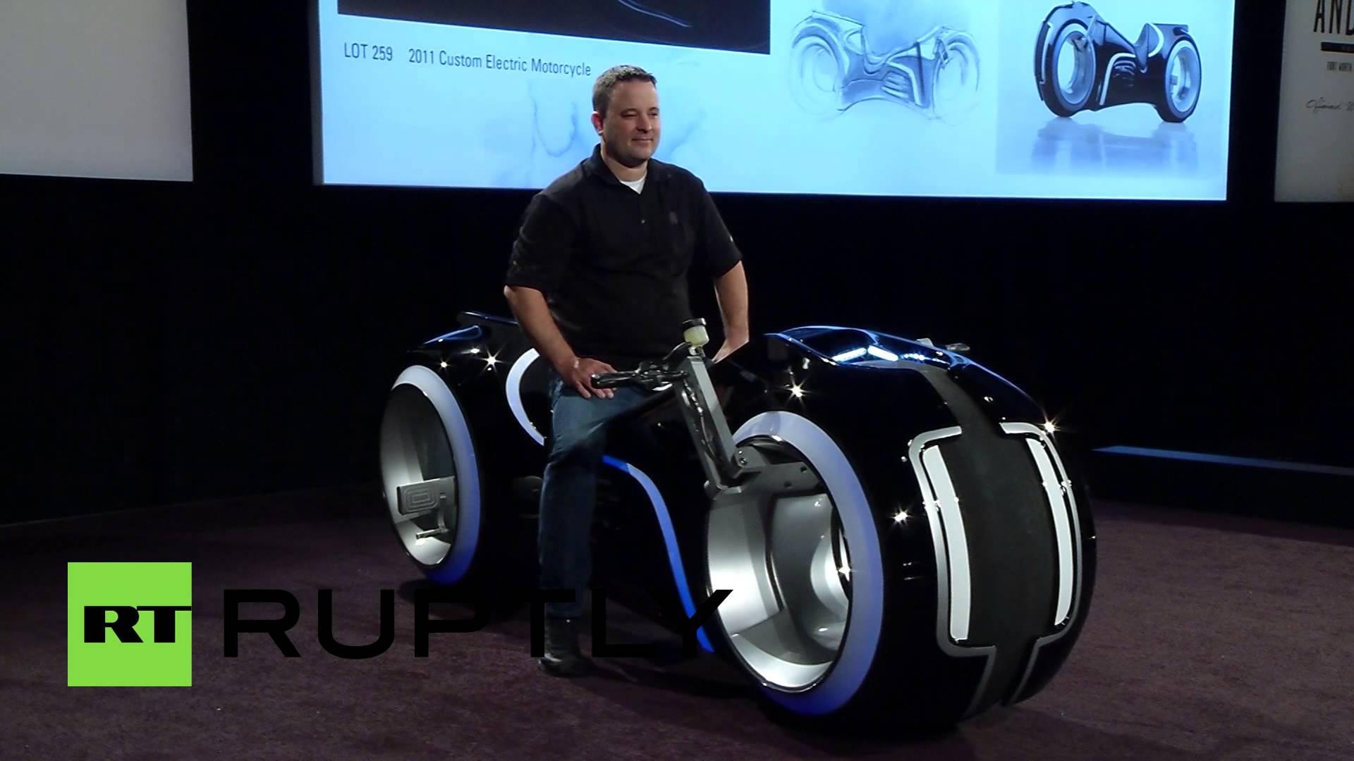 دراجة نارية قيمتها 77 ألف دولار