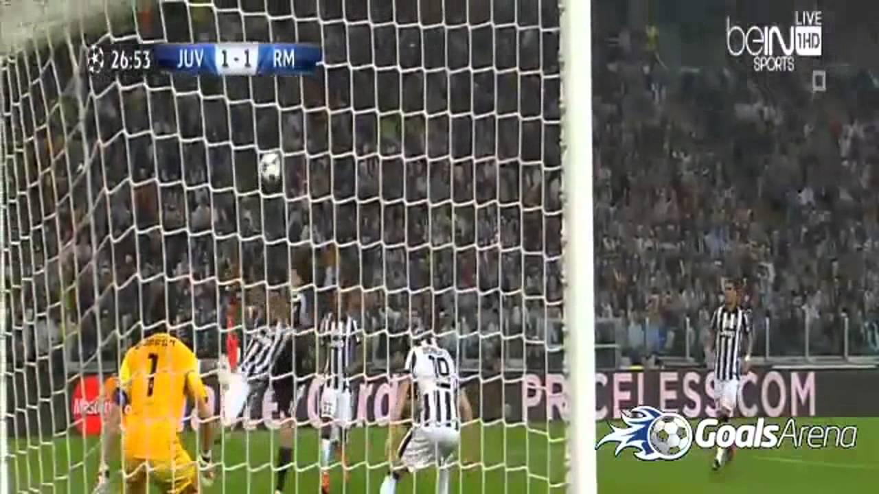يوفنتوس وريال مدريد 2-1