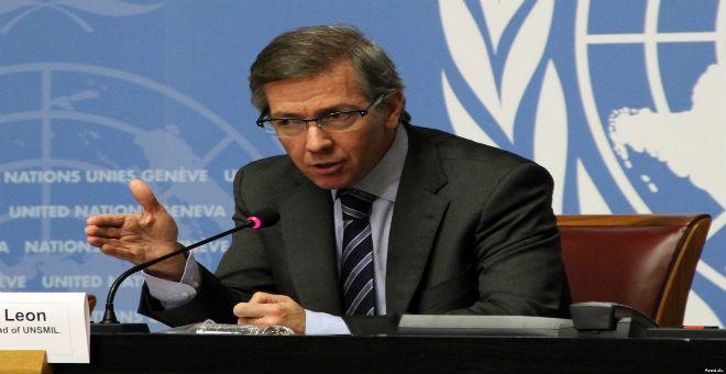 ليون يلمح لإمكانية إبرام اتفاق ليبي في سبتمبر
