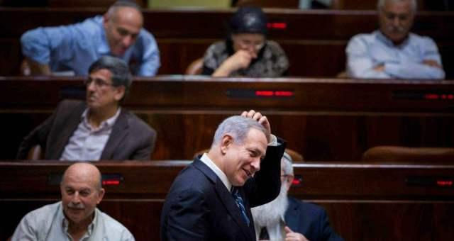 نتانياهو يحصل على تزكية الكنيسيت لحكومته