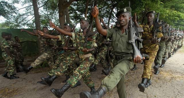 فشل الانقلاب العسكري في بورندي