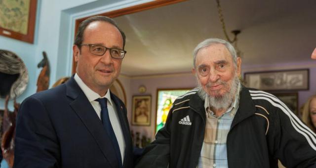 اليمين الفرنسي ينتقد لقاء هولاند بكاسترو