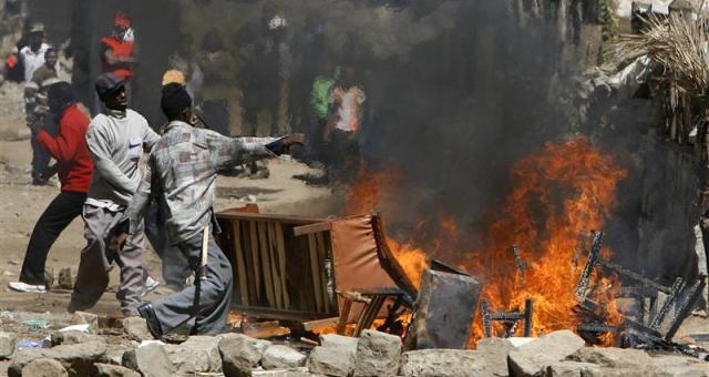 مقتل 45 شخصا في مواجهات بكينيا