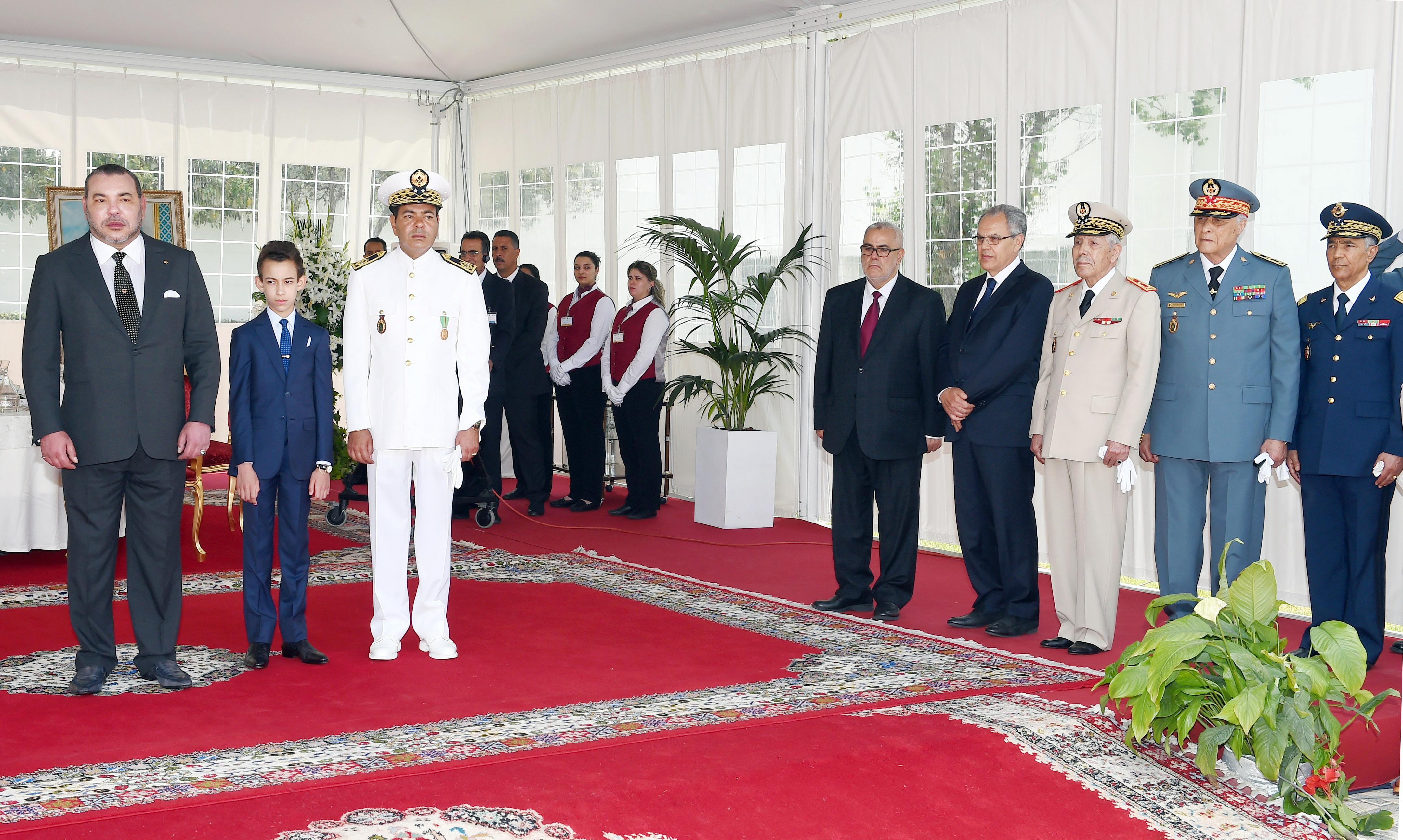 استحضار فقدان الطيار ياسين بحتي في حفل ترأسه الملك في الذكرى 59 للجيش