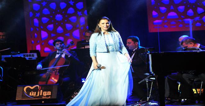 موازين: حضور شخصيات بارزة في حفل ماجدة الرومي