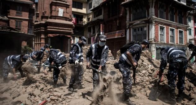 النيبال تستفيق على وقع زلزال جديد
