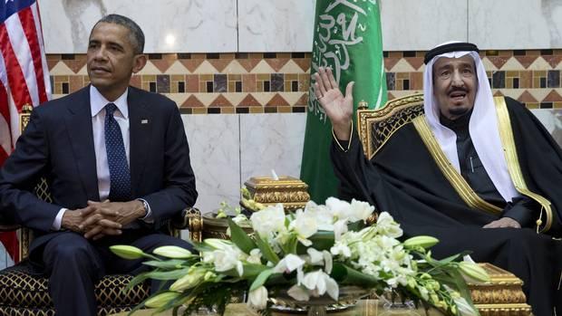 الملك سلمان لن يحضر القمة الخليجية الأمريكية