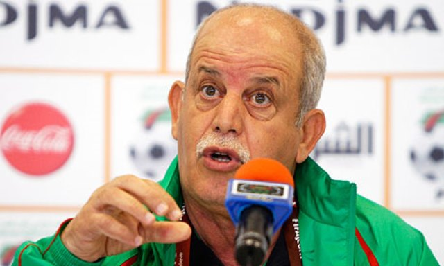 سعدان يهاجم الكاف بسبب قرعة دوري أبطال افريقيا