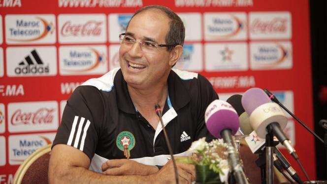 مدرب المنتخب المغربي بادو الزاكي