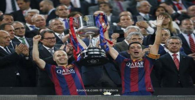 برشلونة يحرز كأس الملك على حساب بلباو