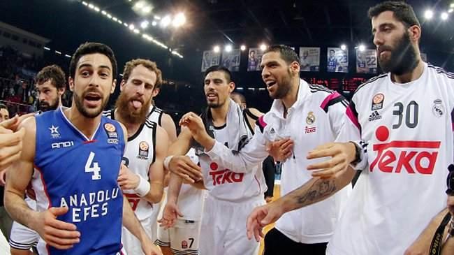 فريق ريال مدريد يصل للنهائي الأوروبي للسلة