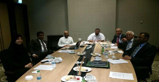 انتخاب عبد الله بوانو أمين سر منظمة