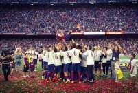 برشلونة وديبورتيفو  2-2