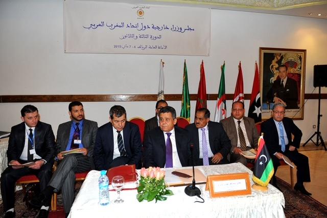 وزراء خارجية الدول المغاربية يدعون في الرباط إلى استراتيجية أمنية لمواجهة الإرهاب