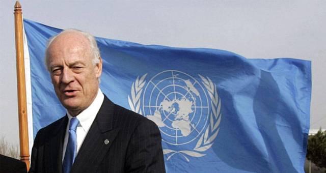 سوريا: دي ميستورا يوجه دعوة لبعض قادة الفصائل المسلحة