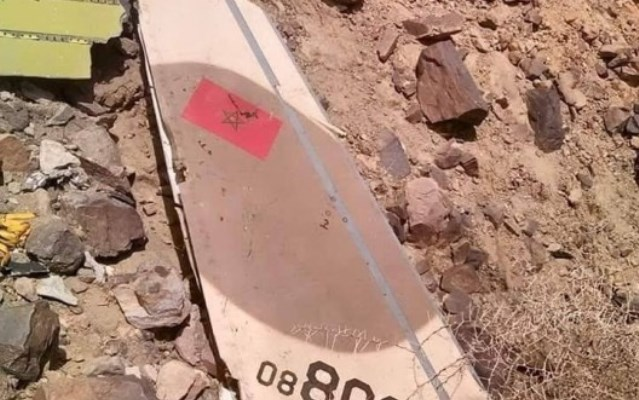 ظهور الصور الأولى للطائرة العسكرية المغربية المحطمة في اليمن