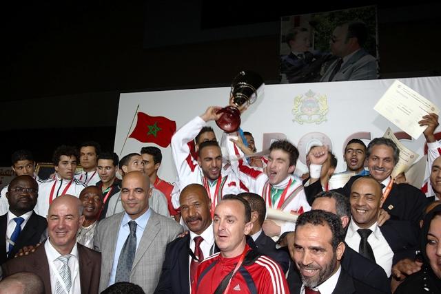 المنتخب الوطني يتوج بكأس محمد السادس للكراطي