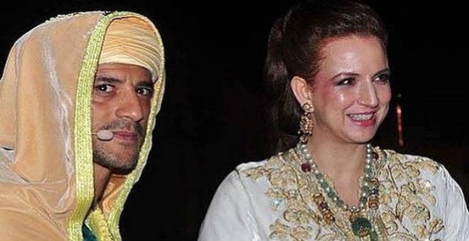 سعيد التغماوي يفتخر بصورته مع الأميرة لالة سلمى