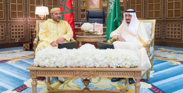 العاهل المغربي يغادر السعودية بعد مباحثات مع خادم الحرمين الشريفين