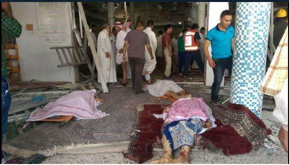 عاجل: قتلى ومصابون في انفجار بمسجد بالقطيف السعودية