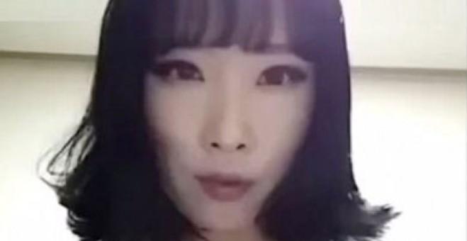 بالفيديو.. كورية تمسح مكياجها..النتيجة مفاجئة