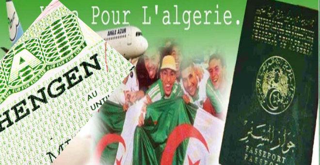 أكبر نسبة رفض لطلبات تأشيرة شيغن تعود للجزائر