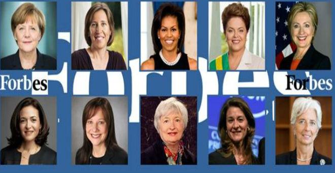 أنجيلا ميركل تتصدر قائمة أقوى نساء العالم